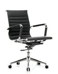 フォーシャンのオフィスの椅子の工場革高いバックオフィスエグゼクティブ椅子