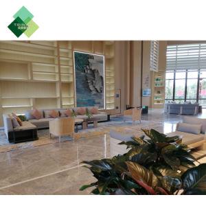 verwendete moderne Hotel-Luxuxvorhalle-Schnittsofa-Stuhl-Fünf-Sternemöbel für Verkauf