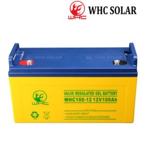 Использование солнечной энергии хранения без необходимости технического обслуживания герметичный Гелиевый аккумулятор 12V 100Ah
