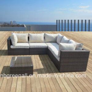 خارجيّة [ويكر] [رتّن] أريكة فناء أثاث لازم مجموعة