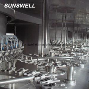 Automatische Fles Aseptische spoelen-Filling-Afdekt 3 in-1 het Vullen Machine voor Melk/Sap