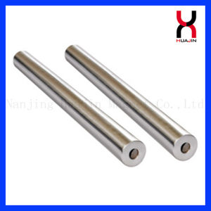 Kundenspezifisches super starkes Magnet-seltene Massen-Neodym materieller magnetischer Rod (12000GS)