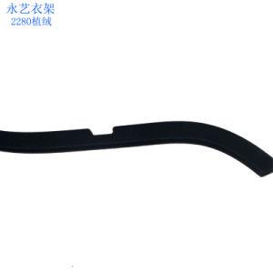 Волокнистой многофункциональных черного бархата держатели подвес брюки вешалки для отображения