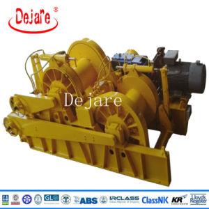 Treuil de remorquage hydraulique électrique simple ou double tambour