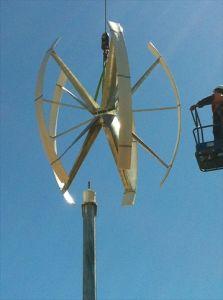 5KW en el eje vertical de la red Aerogenerador