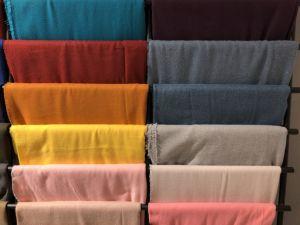 2018 de Nieuwe Geweven Sjaal van de Mengeling van de Kleur van het Ontwerp Duidelijke Materiaal