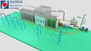 Revestimiento en polvo automática/equipos de la línea de la máquina de pulverización de pintura en polvo