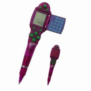 3 in 1, penna & calcolatore a 8 cifre, gioco del mattone