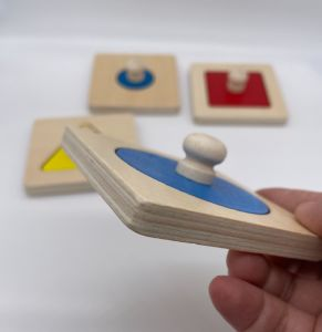 Puzzle en bois Montessori
