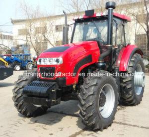 Tractor 1604, van het Landbouwbedrijf van het wiel Tractor 160HP Gelijkaardige Fonton met de Lader van het VoorEind