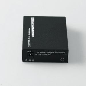 O Sc de fibra óptica 10/100/1000Mbps do conversor dos media de Giga Dual a única modalidade da fibra (MG1002SC)