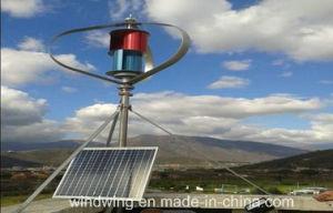 24V600W Maglevのセリウムの証明書が付いている縦の風発電機