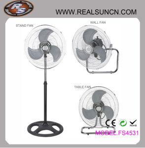 Industrial de 18 pulgadas 3 en 1 Tabla Fan-Stand Fan, ventilador de pared 3 en 1-precio muy competitivo