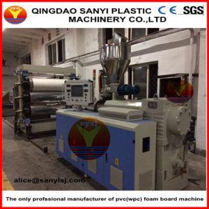 Chaîne de production de marbre d'imitation de panneau de mur de PVC