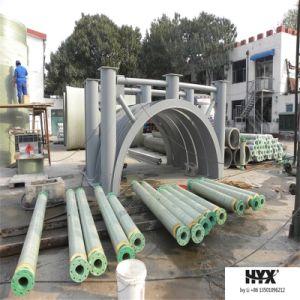 Het Materiaal van het polyurethaan keurt Pijp FRP voor het Vervoeren van het Water van de Warmwaterbron goed