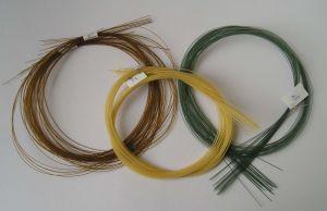 Suture Catgut chromique threads (non stérilisées) USP0#