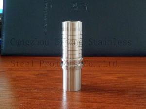 Capezzolo del tubo flessibile dell'accessorio per tubi dell'acciaio inossidabile dal tubo