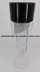 700ml botella de viaje Deportes la botella de agua con frutas Infuser