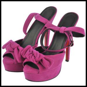 2016 Nouveau haut talon Mesdames sandales (L'Hcy02-958)