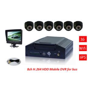 Neu! 8CH Reales-Time Motion Detection WiFi 3G Car Mobile DVR