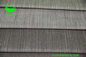 De Stof van het Linnen van Faux van de Polyester van 100% (BS6003)