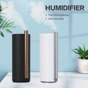 Comercio al por mayor de la noche con sensor de luz UV habitación elegante etiqueta caliente fresco aroma humidificador por ultrasonidos Industrial