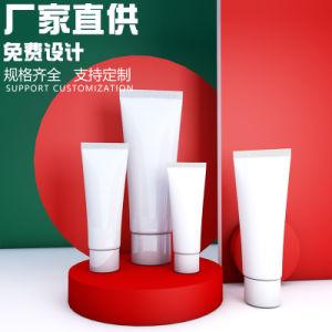 Apriete el tubo de ensayo de cosméticos suave material de embalaje flexible de crema de manos