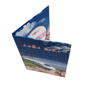 마분지 선물을%s 종이에 의하여 주문을 받아서 만들어지는 디자인 CD 상자