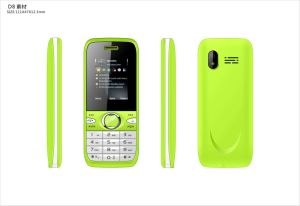 GSM van de Telefoon van de Cel van de Eigenschap van 1.8 Mensen van de Duim de Bejaarde Telefoon van de Staaf Dubbele SIM Mobiele Telefoon A26