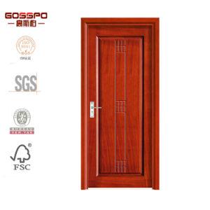 Portello di legno interno del MDF di standard di disegno semplice (GSP8-027)