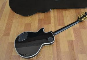 Guitarras Ksg Top Quality 1959 relançou Lp guitarra eléctrica Les Paul Custom Black Beauty guitarra eléctrica Custom Les Paul Guitar Ebony Fingerboard Lp Guitar