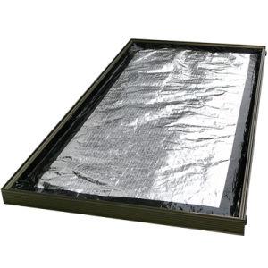 De blauwe Collector van de Verwarmer van het Hete Water van de Vlakke plaat van de Hoge druk van het Absorptievat Zonne