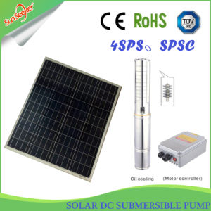 20-65m 헤드를 가진 태양 DC 잠수할 수 있는 펌프 태양 에너지 제품