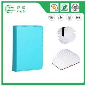 Eco faltbare LED PU-Buch-Lampe 100%