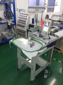 Одиночные головная крышка и тенниска и плоский поставщик машинного оборудования тканья машины вышивки в Китае