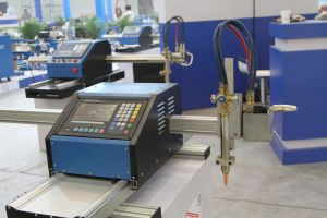 Tipo crossbow portátil perfil metálico CNC plasma cutter