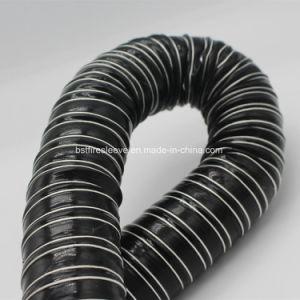Силиконовый материал из стекловолокна и провод с усиленной гибкий шланг