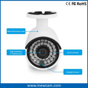 De Camera van kabeltelevisie IP van de Veiligheid van OEM/ODM 2MP/4MP Poe met Audio