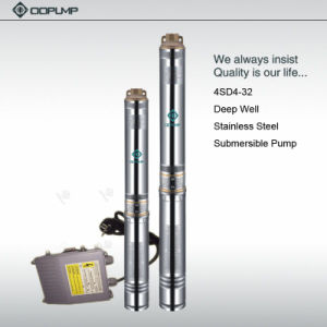 A utilização de água de 4 polegadas e estrutura da Bomba Multiestágio 4 bomba submersível de água HP