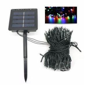 Solar-LED-Weihnachtslicht-Farbe, die 200 LED-Solarzeichenkette-Licht-Feiertags-Partei-im Freiengarten-vorzügliche Baum-Dekoration ändert
