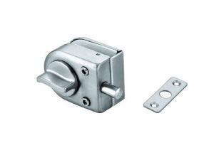 Fechamento central da porta deslizante de vidro de aço inoxidável (FS-202)