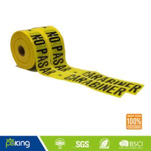 Band van de Waarschuwing van pvc de Ondergrondse voor de Veilige Voorzichtigheid van de Weg