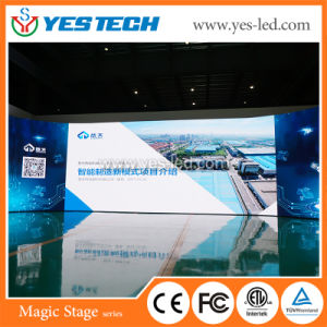 P2.84 Yestech Mg6 conduit à l'intérieur d'affichage de publicité