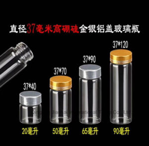 小型の明確な管ガラスのハーブ茶花の容器