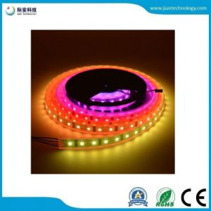 5050 30 SMD LED/2811M 12V digital IC LED impermeável tira flexível
