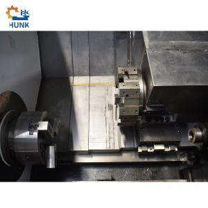 Taiwán tipo suizo de la rueda de Torno CNC Ck50L cama inclinado CNC Torno torno giratorio máquina