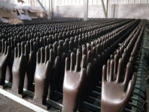 Guanti personalizzati che fanno macchina per i guanti del lavoro industriale che tuffano riga