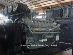 2500kVA 2000kwの予備発電イギリスエンジンのDrivedのディーゼル発電機