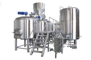 2000L 최첨단 UL에 의하여 증명서를 주는 맥주 양조 장비