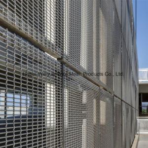Acier inoxydable Aluminium Wire Mesh pour la décoration architecturale